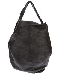 Junya Watanabe Black Tonal Stitch Bag