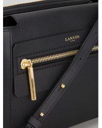 Lanvin Black Le Jour Medium Clutch