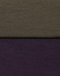 Neiman Marcus - Green Long-Sleeve Jersey Boat-Neck Top - Lyst
