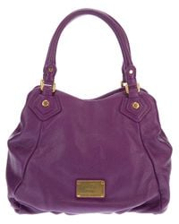 Marc By Marc Jacobs Purple Fran Tote Bag