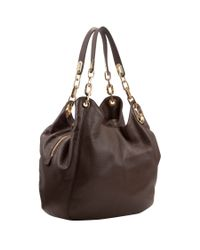 MICHAEL Michael Kors Brown Large Fulton Hobo Bag