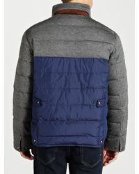 Polo Ralph Lauren Gray Down Explorer Jacket for men