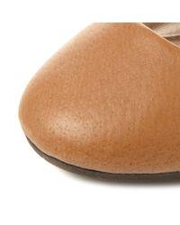 Steve Madden Brown Pheaven Plain Ballerina Shoes