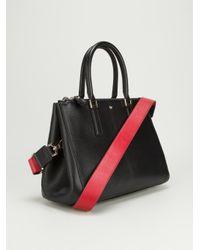 Anya Hindmarch Black Ebury Tote Bag