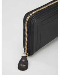 Chloé Black Paraty Wallet