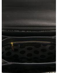 Emanuel Ungaro Brown Leopard Print Shoulder Bag