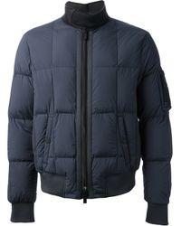 Emporio Armani Blue Padded Jacket for men