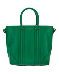 Givenchy Green Lucrezia Medium Shopping Tote