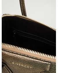 Givenchy Metallic Antigona Small Tote