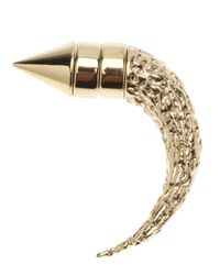Givenchy | Metallic Horn Earring for Men | Lyst