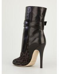 Jimmy Choo Black Blaine Ankle Boot