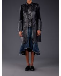 Junya Watanabe Black Junya Watanabe Comme Des Garçons Long Jacket