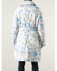 KENZO White Cloud Coat for men