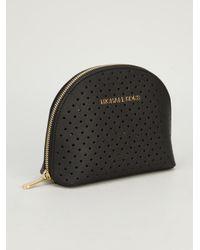 Marc By Marc Jacobs Black Zip Make Up Bag