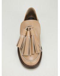 Marni Natural Tassel Loafer