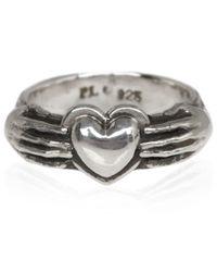 Pamela Love Metallic Silver Aeternum Ring