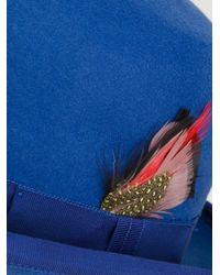 Paul Smith Blue Bowler Hat