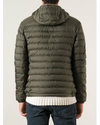 Peuterey Green Padded Jacket for men