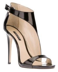 Ruthie Davis Black Cut Out Sandal