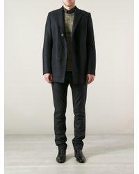 Stephan Schneider Black Wick Coat for men