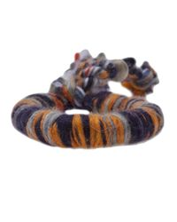 The Elder Statesman | Multicolor Cashmere Bracelet | Lyst