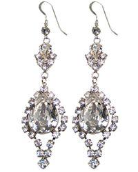 Tom Binns | Metallic Dumont Earrings | Lyst