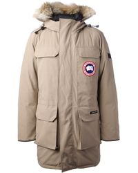 Canada Goose | Brown Burnett Jacket in Tan for Men | Lyst