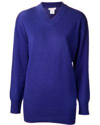 DEMYLEE Blue Cashmere Roberta Sweater