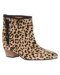Golden Goose Deluxe Brand Brown Milk Ankle Boot