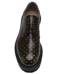 John Galliano Brown Lace Up Brogue for men