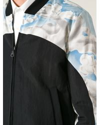 KENZO Blue Clouds Bomber Jacket for men