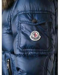 Moncler Blue Marseille Padded Jacket for men