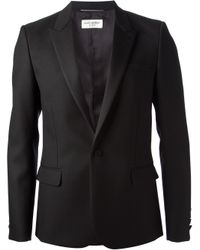 Saint Laurent | Black Dinner Jacket for Men | Lyst