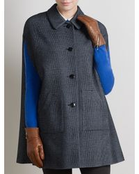 Somerset by Alice Temperley Gray Houndstooth Cape