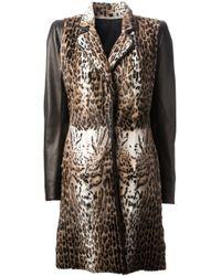 Sylvie Schimmel | Brown Leopard Print Fur Coat | Lyst