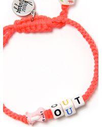 Venessa Arizaga   Orange Pig Out Bracelet   Lyst
