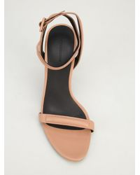 Alexander Wang Pink Strappy Sandal