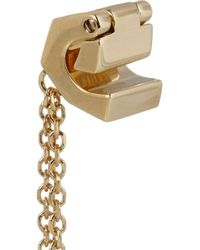 Chloé Metallic Babeth Goldplated Ear Cuff