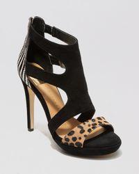 Dolce Vita Black Sandals Swift High Heel