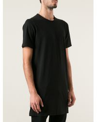 Rick Owens Drkshdw Black Short Sleeve Tunic for men