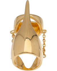 Eddie Borgo Metallic Pharaoh Ring