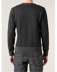 Fendi Black Monogram Sweater for men