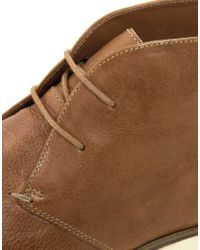 Monki - Brown Frank Wright Cribbins Chukka Boots for Men - Lyst