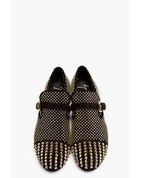 Giuseppe Zanotti | Metallic Studded Velour Slip-On Loafers for Men | Lyst