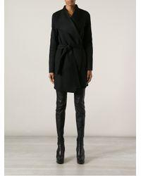JOSEPH Black Lisa Coat