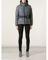 Moncler Gray Bea Padded Jacket