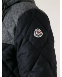 Moncler Gray Quilted Jacket for men