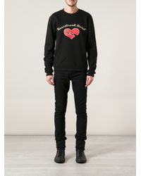 Opening Ceremony Black Heartbreak Hotel Sweatshirt for men