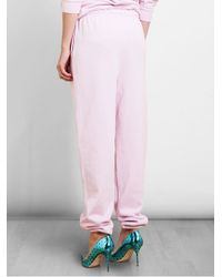 Opening Ceremony Pink Unnisex Vision Streetwear Cotton Sweatpants