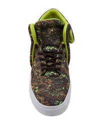 Supra Green Falcon Sneaker for men